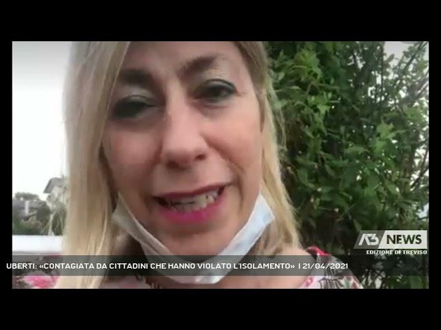 PAESE - UBERTI: «CONTAGIATA DA CITTADINI CHE HANNO VIOLATO..